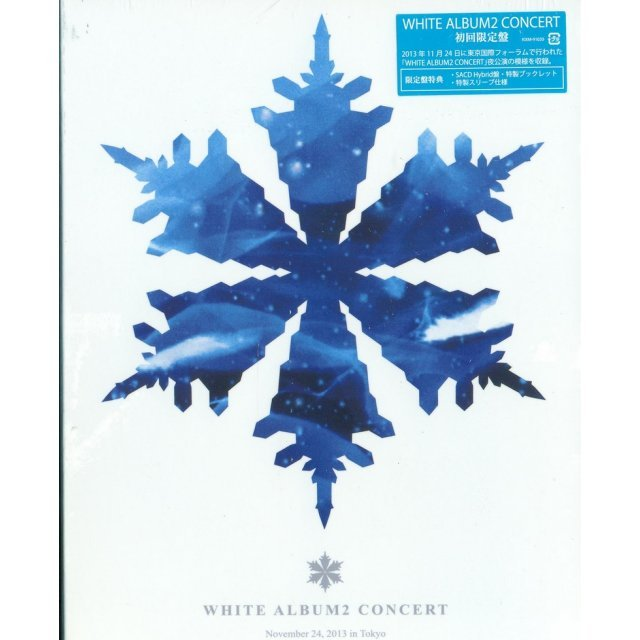 White Album2 Concert [Blu-ray+SACD Hybrid CD Limited Edition]