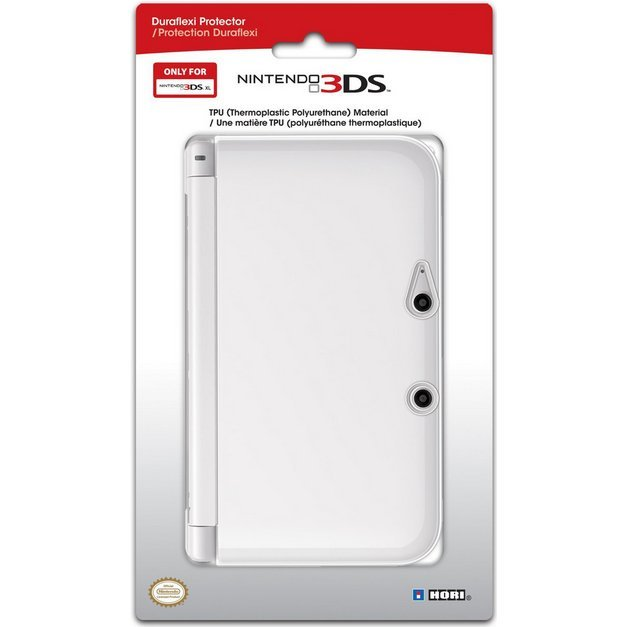 3DS XL Duraflexi Protector (Clear)