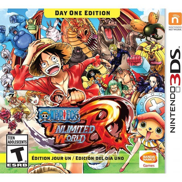 One Piece: Unlimited World Red