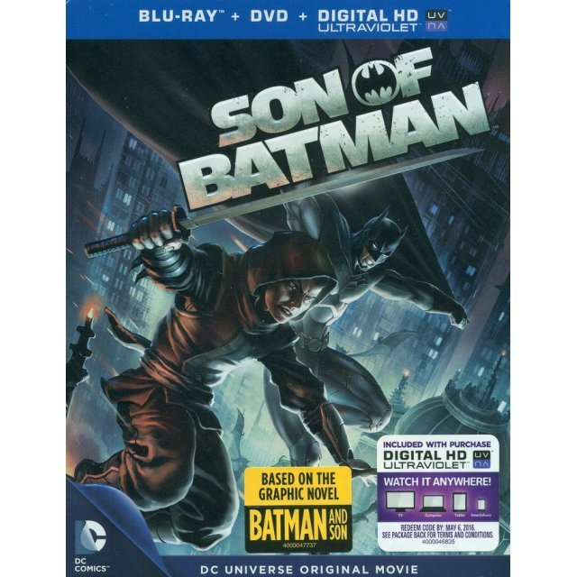 DCU: Son of Batman [Blu-ray+DVD+UltraViolet]
