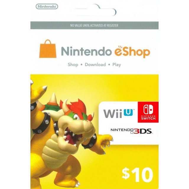 Nintendo eShop Card 10 USD | USA Account
