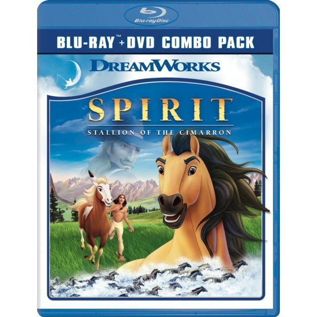 Spirit: Stallion of the Cimarron [Blu-ray+DVD]