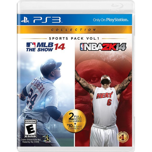 Sports Pack Vol. 1: MLB 14 The Show and NBA 2K14