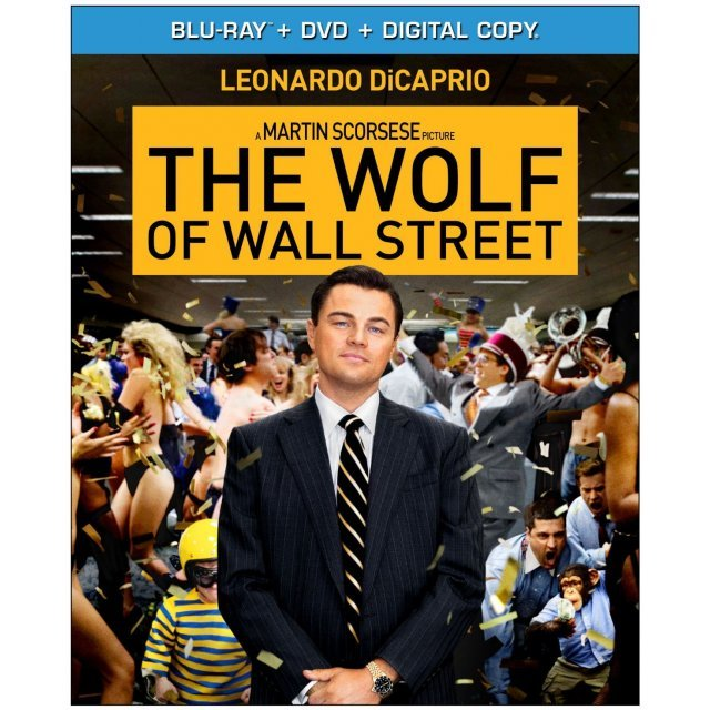 The Wolf of Wall Street [Blu-ray+DVD+UltraViolet]