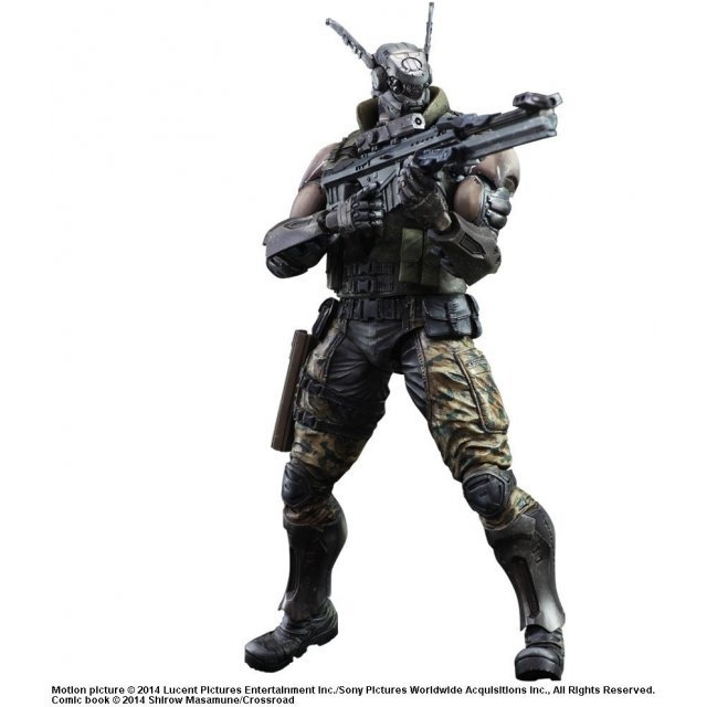 Appleseed Alpha Play Arts Kai: Briareos