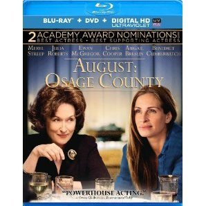 August: Osage County [Blu-ray+DVD+Ultraviolet]