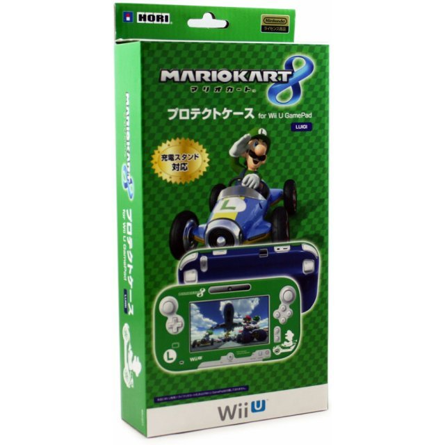 Mario Kart 8 Protect Case for Wii U Gamepad (Luigi)