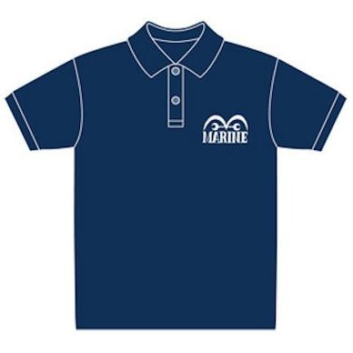 One Piece Navy Polo-Shirt Navy L (Re-run)