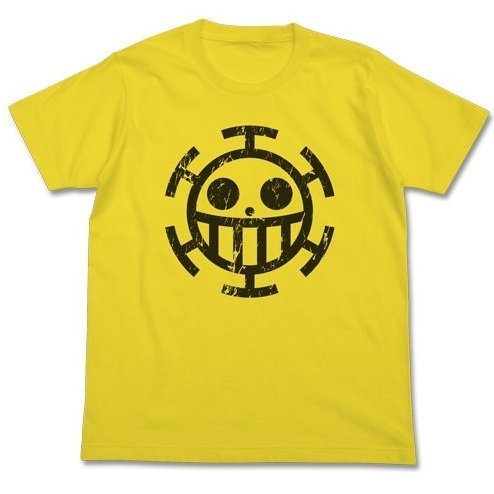 One Piece Pirate of Heart T-Shirt Yellow L (Re-run)
