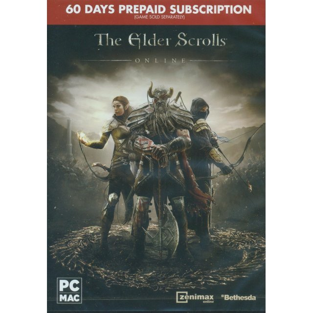 The Elder Scrolls Online 60-Day Prepaid Subscription Card