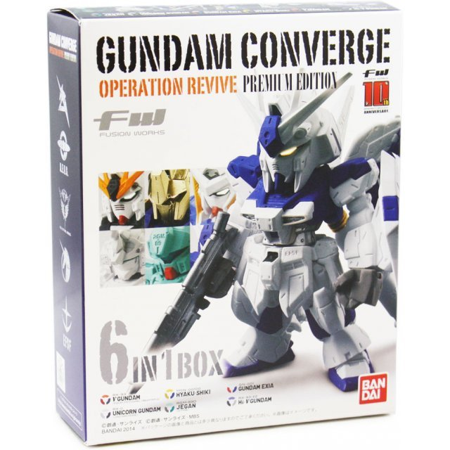 FW Gundam Converge Operation Revive (Premium Edition)  (6 in 1 box)