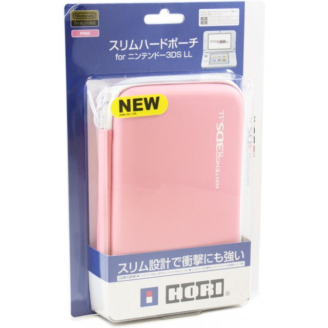 Slim Hard Pouch for 3DS LL (Pink)