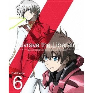 Valvrave The Liberator 2nd Season 6 [DVD+CD Limited Edition]