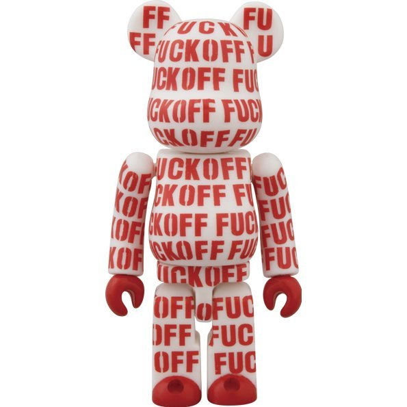 Be@rbrick Lemon and Soda Jointed Works (Red)