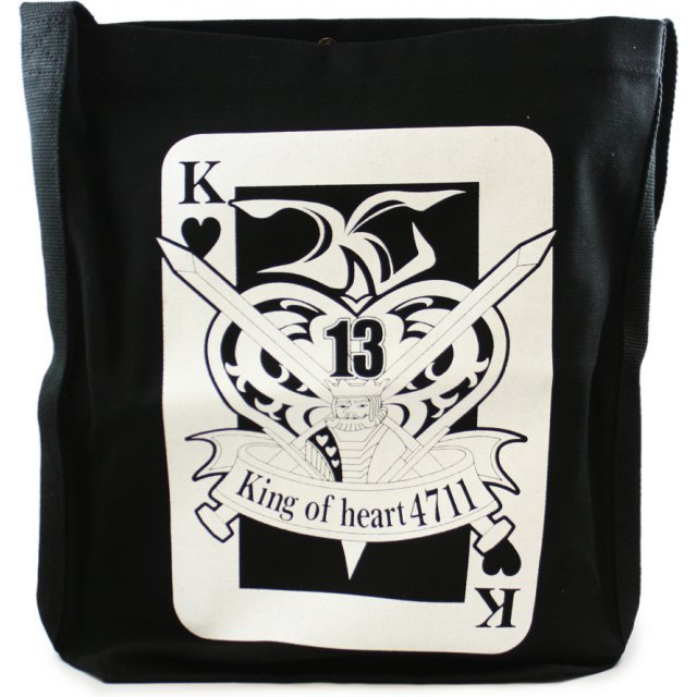 G Gundam Shoulder Tote Bag Black: King of Heart (Re-run)