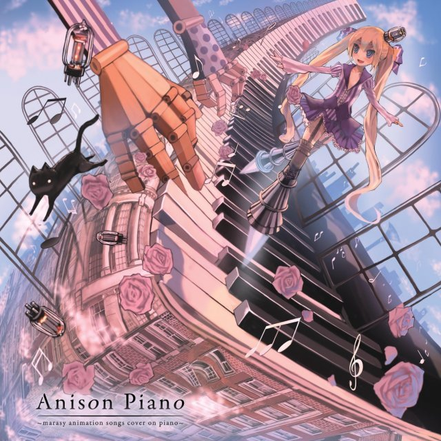 Anison Piano - Marasy Animation Songs Cover On Piano