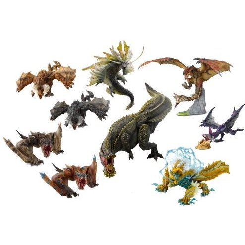 Figure Builder Standard Model Monster Hunter The Best Vol.1/2/3 (Set of 9 pieces)