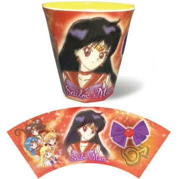 Sailor Moon Melamine Cup: 06 Sailor Mars ML