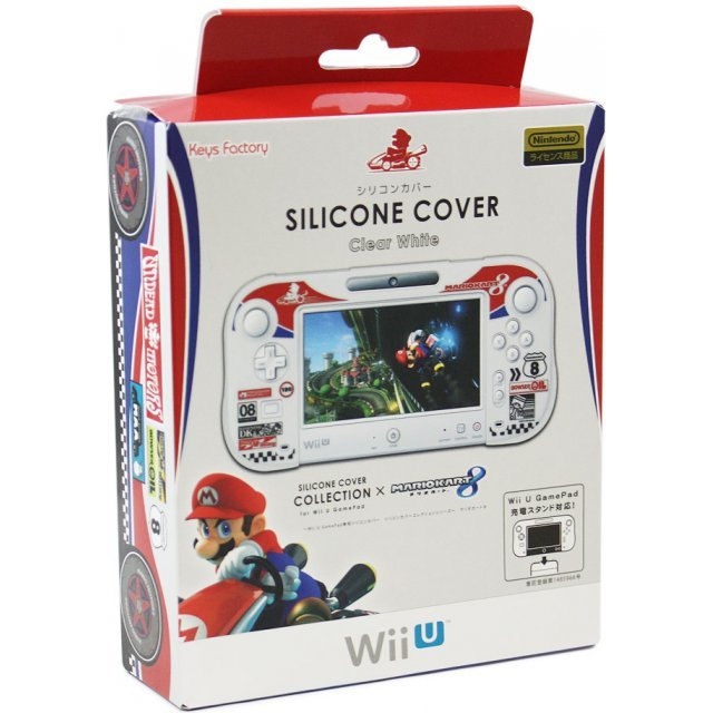 Silicon Cover for Wii U GamePad (Mario Kart 8 Type A)