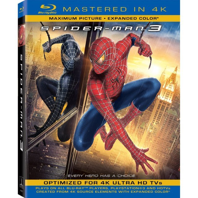 Spider-Man 3  [Mastered in 4K]