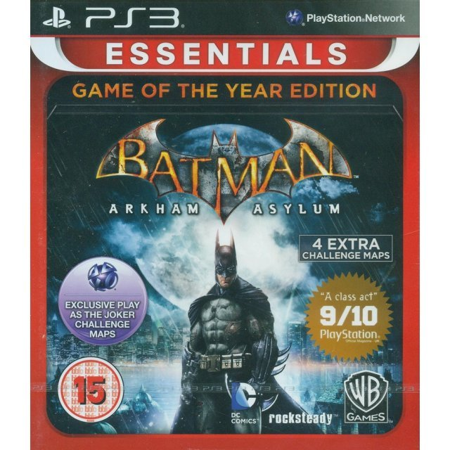 Batman: Arkham Asylum (Game of the Year Edition - Essentials)