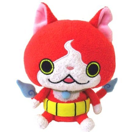Youkai Watch Kuttari Plush: Jibanyan (Re-run)