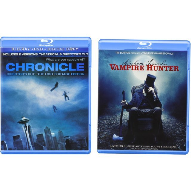 Abraham Lincoln: Vampire Hunter / Chronicle (Director's Cut: The Lost Footage Edition)