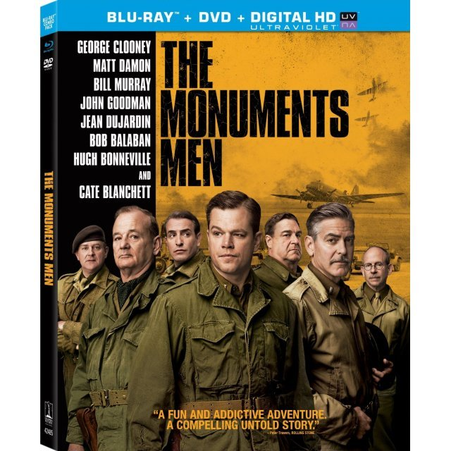 The Monuments Men [Blu-ray+DVD+UltraViolet]