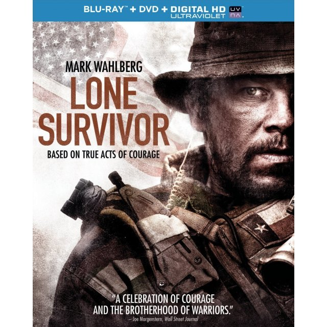 Lone Survivor [Blu-ray+DVD+UltraViolet]