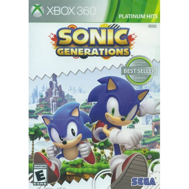 Sonic Generations (Platinum Hits)