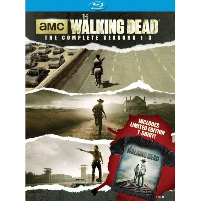 The Walking Dead : The Complete Season 1-3 [Limited Edition Bundle with T-Shirt]