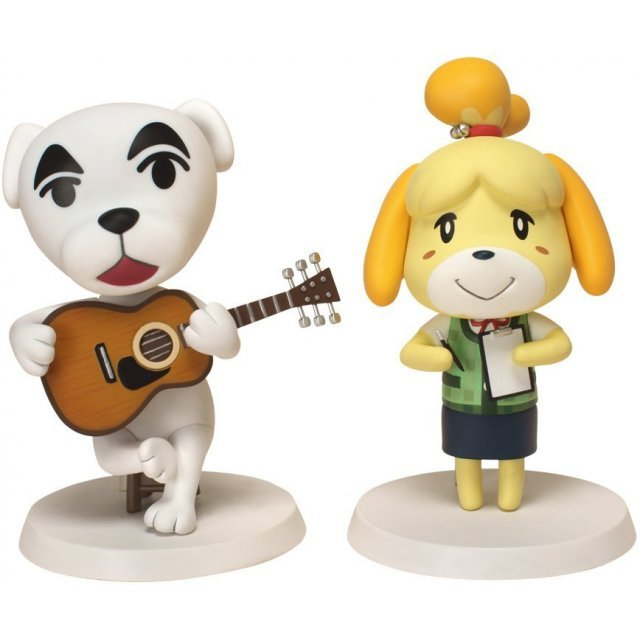 Animal Crossing Soft Vinyl Figure: Totakeke and Shizue