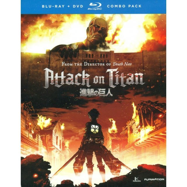 Attack on Titan: Part 1 [Blu-ray+DVD]