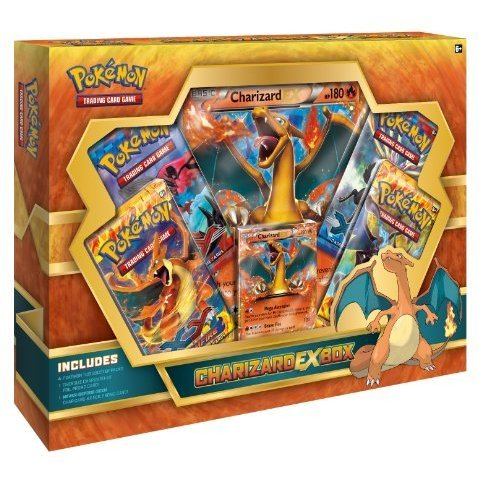 Pokemon TCG: Charizard-EX Box