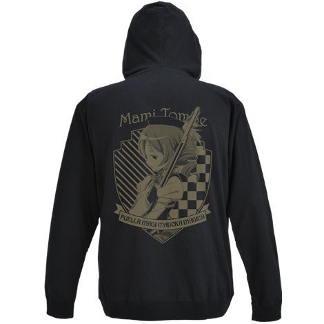 Puella Magi Madoka Magica The Movie Part 3 Rebellion Parka Black L: Mami Tomoe