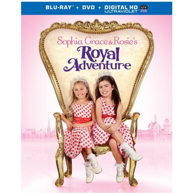 Sophia Grace & Rosie's Royal Adventure [Blu-ray+DVD+UltraViolet]