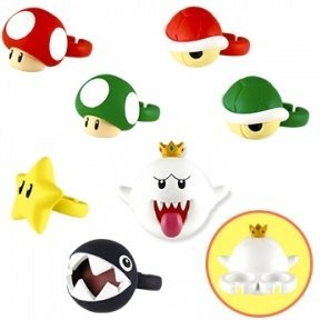Super Mario Capsule: Fashion Ring Collection