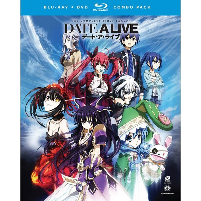Date a Live: The Complete Series [Blu-ray+DVD]