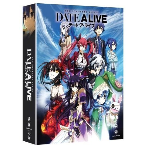 Date a Live: The Complete Series (Limited Edition) [Blu-ray+DVD]