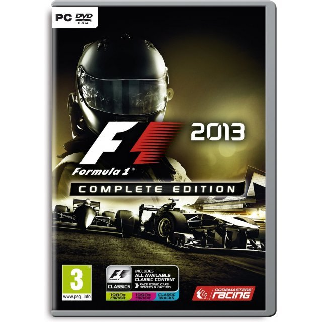 F1 2013 (Complete Edition) (DVD-ROM)