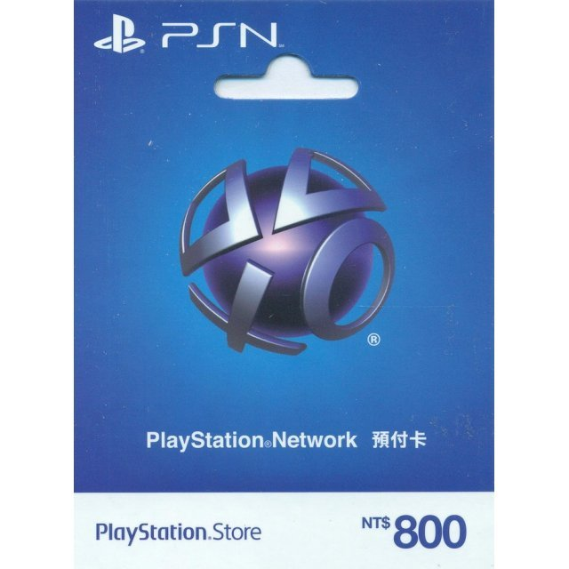 PlayStation Network Card (NTD$ 800 / for Taiwan Network Only)