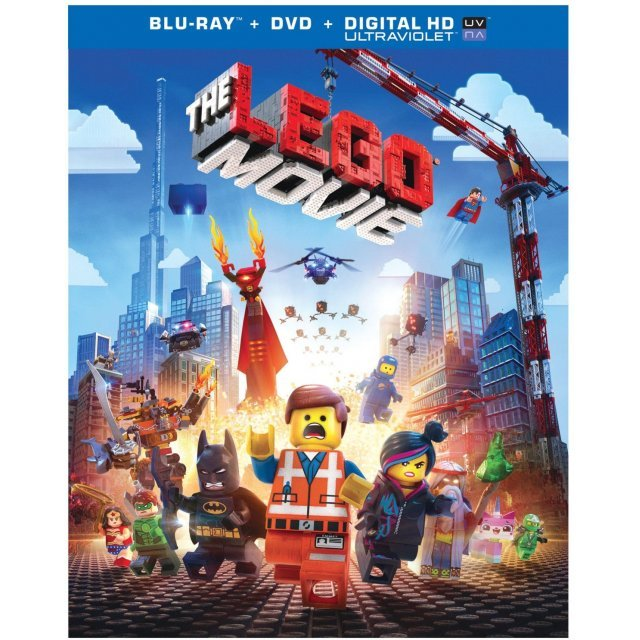 The Lego Movie [Blu-ray+DVD+UltraViolet]