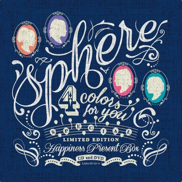 4 Colors For You - Happiness Present Box [CD+DVD+GOODS Limited Pressing]