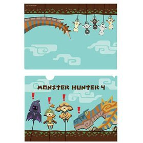Monster Hunter 4 A4 Clear File: Airou