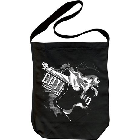 Ryugajo Nanana no Maizokin Shoulder Tote Bag Black: Ikkyu Tensai