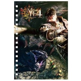 Monster Hunter 4 3D Ring Notepad