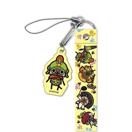 Monster Hunter 4 Strap: Otomo Airou