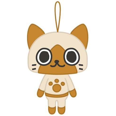 Monster Hunter Mascot Plush: Airou