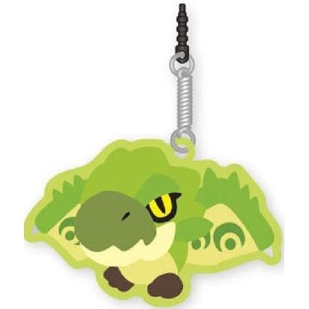 Monster Hunter Rubber Mascot Cleaner: Lioleia