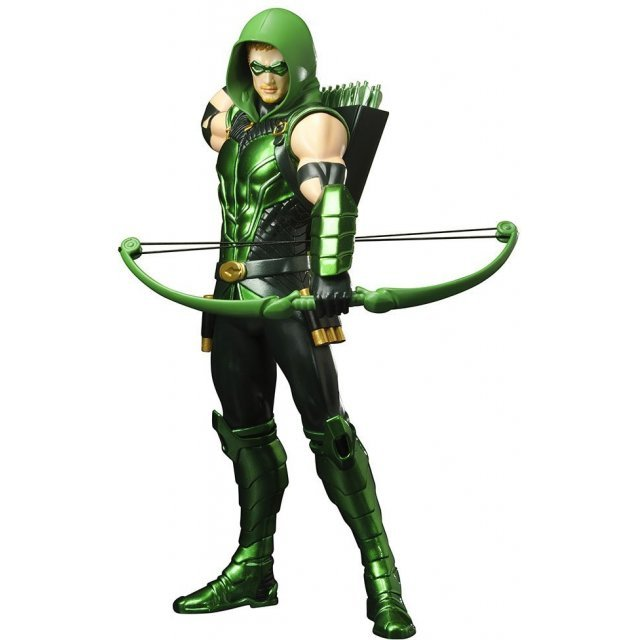 ARTFX+ DC Comics New 52 1/10 Scale Pre-Painted Figure:  Green Arrow